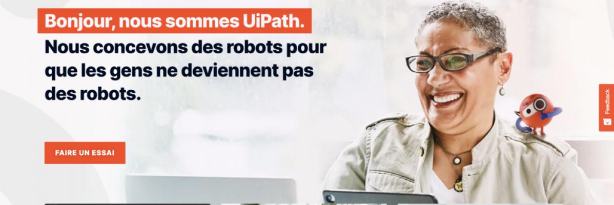 UiPath solution de robotic process automation lève 750 millions de dollars pour atteindre une valorisation de 35 milliards de dollars